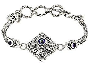 Pre-Owned Blue Jay Jazz™  Sterling Silver Bracelet 1.28ctw
