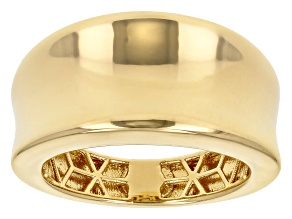 Pre-Owned Moda Al Massimo™ 18K Yellow Gold Over Bronze Dome Band Ring