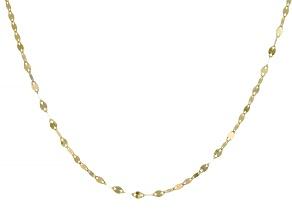 "Pre-Owned Splendido Oro™ 14K Yellow Gold 18"" Valentino Necklace"