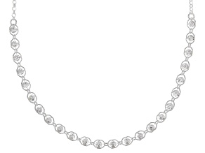 Pre-Owned Sterling Silver Bead Necklace 16 Inch With 2 Inch Extender