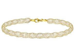Pre-Owned White Cubic Zirconia 14k Yellow Gold 7 1/2 inch Bracelet 31.91ctw