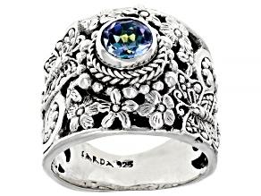 Pre-Owned  Rio Aqua™ Topaz Silver Ring .94ct