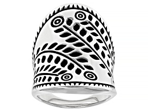 Pre-Owned Sterling Silver Statement Ring
