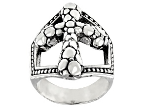 """Pre-Owned Sterling Silver """"Message Of Hope"""" Ring"""