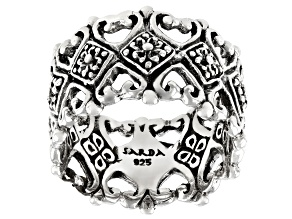 """Pre-Owned Sterling Silver """"Cherished Forever"""" Band Ring"""