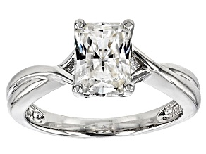 Pre-Owned Moissanite Ring Platineve™ 1.80ct DEW