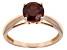 Pre-Owned Red Garnet 14k Rose Gold Ring 1.46ct.