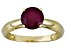 Pre-Owned Mahaleo Ruby 14k Yellow Gold Ring 1.60ct