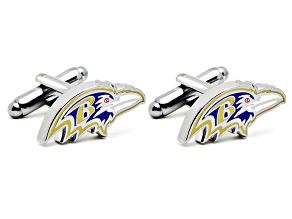 Baltimore Ravens Head Cufflinks