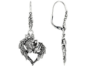 Pre-Owned Sterling Silver Horse Earrings