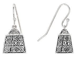 Pre-Owned Sterling Silver Bell Earrings