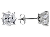 Pre-Owned Cubic Zirconia Platineve Earrings 4.57ctw