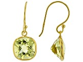 Pre-Owned Mixed-Gem 18k Yellow Gold Over Silver Set of 6 Pairs Earrings 31.00ctw
