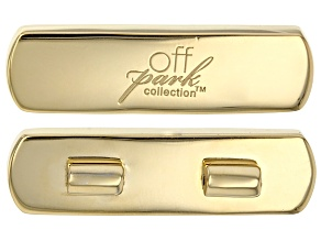 Pre-Owned Gold Tone Brooch Magnet Converter