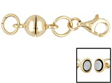 Pre-Owned Magnetic Clasp Converter 18 Karat Gold Over Sterling Silver