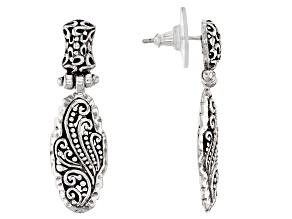 """Pre-Owned Sterling Silver """"Spirit Inspired"""" Earrings"""