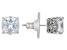Pre-Owned Cubic Zirconia Platineve Earrings 5.21ctw (3.96ctw DEW)