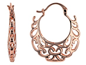 Pre-Owned Timna Jewelry Collection™ Copper Hoop Earrings