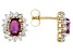 Pre-Owned Ruby 14k Yellow Gold Stud Earrings 1.62ctw