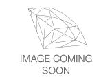 Pre-Owned White Crystal Gold Tone Hoop and Stud Earrings Set of 6