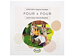 Pre-Owned Four x Four Czech Glass Tutorial Booklet