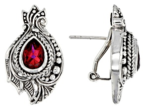 Pre-Owned Savage Fire™ Mystic Quartz® Sterling Silver Earrings 2.52ctw