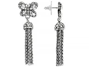 Pre-Owned Sterling Silver Tassel Earrings