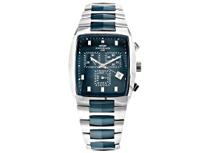 Pre-Owned Stainless Steel and Ceramic Gents Watch