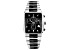 Pre-Owned Black Stainless Steel and Ceramic Gents Watch