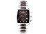 Pre-Owned Brown Stainless Steel and Ceramic Gents Watch