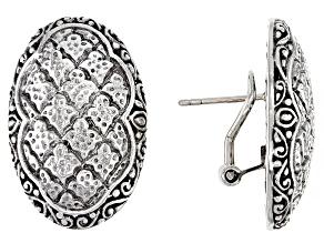 Pre-Owned Sterling Silver Stud Earrings