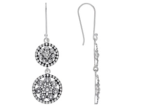 Pre-Owned Sterling Silver Textured Earrings