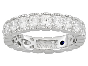 Pre-Owned Bella Luce 3.67ctw Round Brilliant Cut Cubic Zirconia Platineve Eternity Band