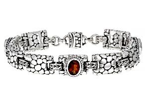 Pre-Owned Madeira Citrine Silver Bracelet 2.55ctw