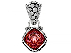 Pre-Owned Hoity Toity™ Quartz Sterling Silver Pendant 4.25ctw