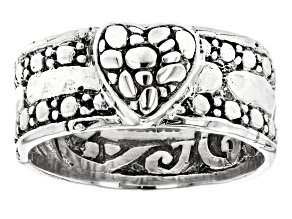 Pre-Owned Sterling Silver Heart Ring