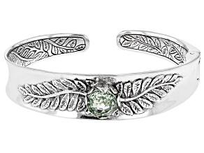 Pre-Owned Green Prasiolite Sterling Silver Bracelet 3.19ct