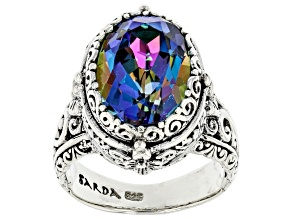 Pre-Owned Richey Blue™ Quartz Sterling Silver Solitaire Ring 5.00ct