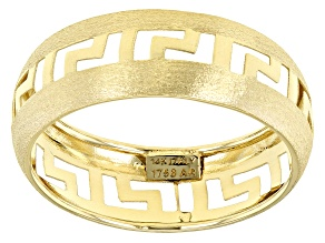 Pre-Owned Splendido Oro™ 14k Yellow Gold Greek Style Band Ring