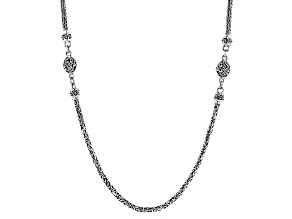 """Pre-Owned Sterling Silver 26""""Snake Chain Necklace"""