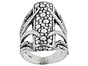 """Pre-Owned Sterling Silver """" Agape Love"""" Ring"""