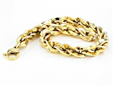 Pre-Owned 14k Yellow Gold Torchon Chain Bracelet