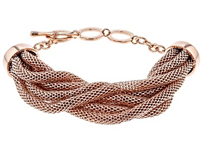 Pre-Owned Timna Jewelry Collection™  Copper 7-Strand Mesh Bracelet