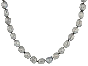Pre-Owned Silver Cultured Freshwater Pearl 36 Inch Endless Strand Necklace