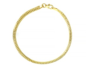 Pre-Owned 10K Yellow Gold 3.30MM Herringbone Link Bracelet