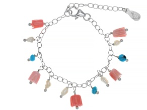 Pre-Owned Sleeping Beauty Turquoise Sterling Silver Baby Bracelet