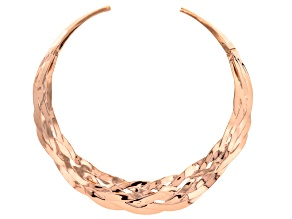 Pre-Owned Copper Collar Necklace