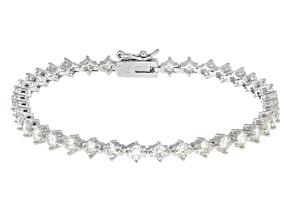 Pre-Owned Moissanite Bracelet Platineve™ 5.70ctw DEW