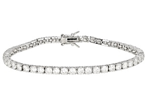 Pre-Owned Moissanite Bracelet Platineve™ 7.84ctw DEW