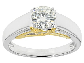 Pre-Owned Moissanite Platineve Ring .80ct DEW